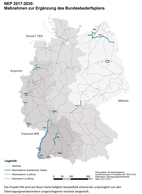 Netzausbau - Netzentwicklungspläne 2030 und Umweltbericht